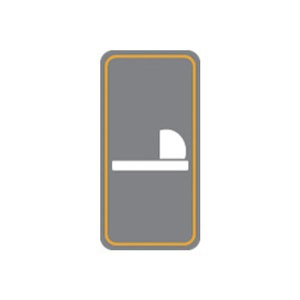 세모네모 2233 양변기 50x100 표지판 - 세모네모, 2,200원, 문패/보드, 아크릴문패